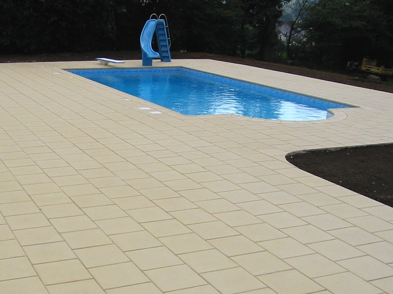 Atlantic Swimming Pool Paving