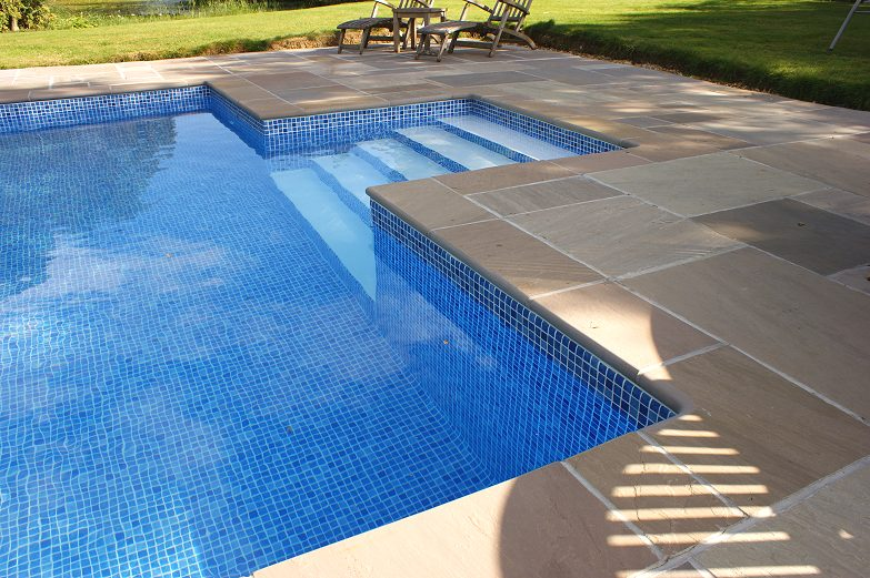 Bowland Natural Stone Coping Stone For Swimming Pools