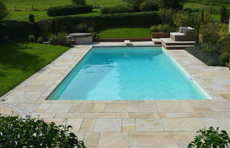 Pool Coping and Paving Featherstone