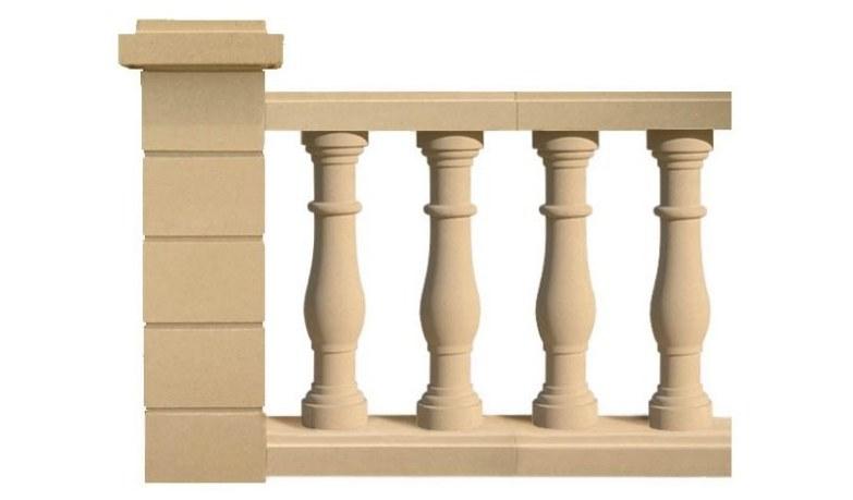 Concrete Balustrade Mimizan
