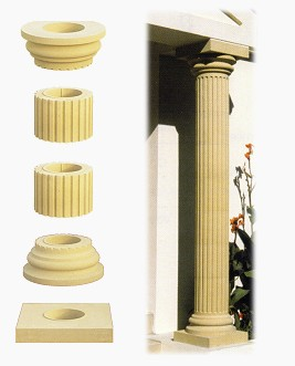 Cast Stone Columns